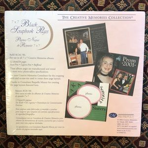 4 new packs Creative Memories 7x7 scrapbook page…